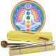 Chakra Healing barres de son - tonalité - Ensemble de 7 barres