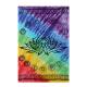 Tenture Batik Chakras - Lotus - couvre lit