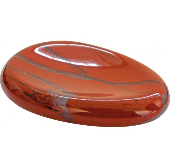 Jaspe rouge - Gratitude pierre - jeux de pouces