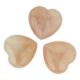 Quartz rose - Gratitude coeur poli - pierre