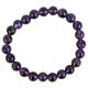 Bracelet Amethyste - elastique