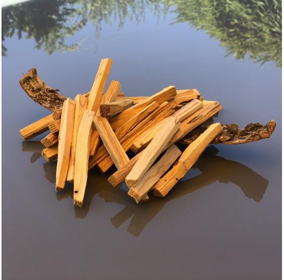 """Palo Santo """"bois sacré"""" sticks de bois FINS à brûler"""