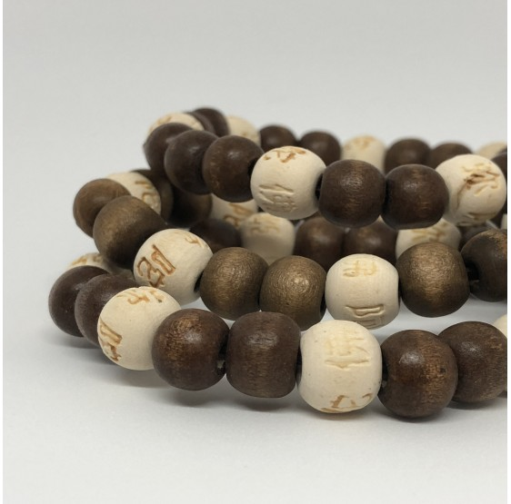 Mala Lucky Karma Bois naturel