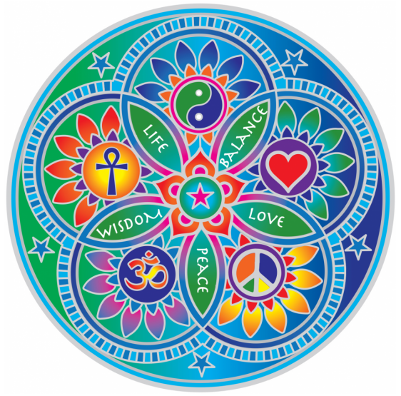 Living Energy Mandala sunseal 14 cm