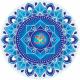 Healing hands Mandala sunseal 14 cm
