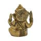 Ganesha - laiton - mini-figurine à bras