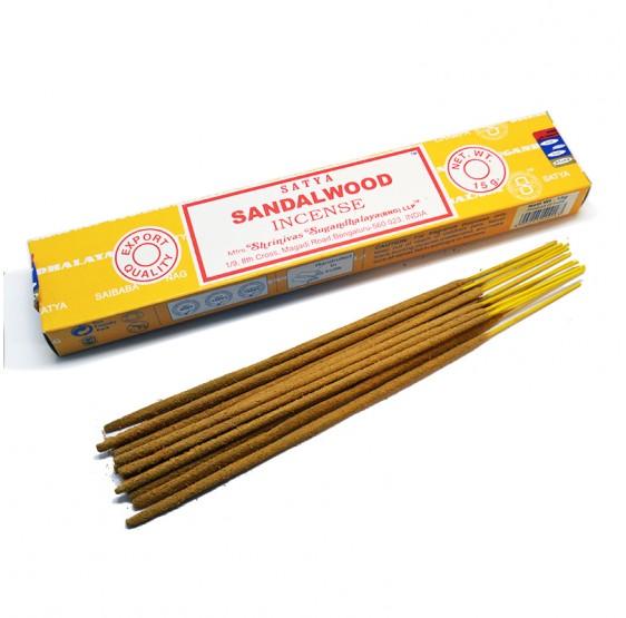 Encens Sandal wood - 15 grs - Satya