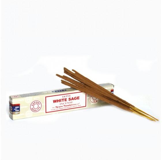 Encens Sauge blanche - sticks -15 grs boite