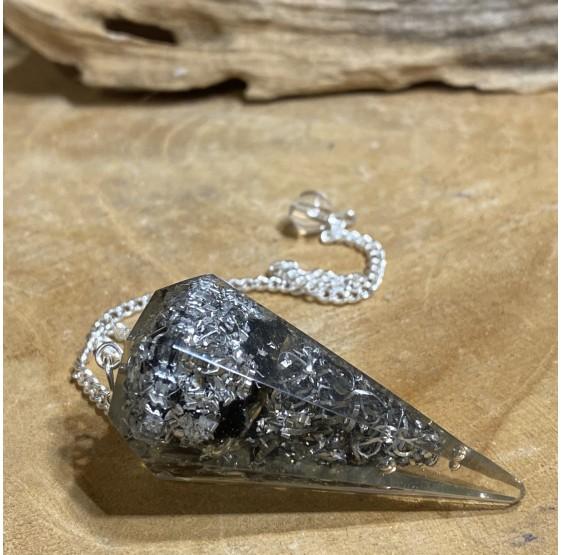 Pendule Orgone Obsidienne