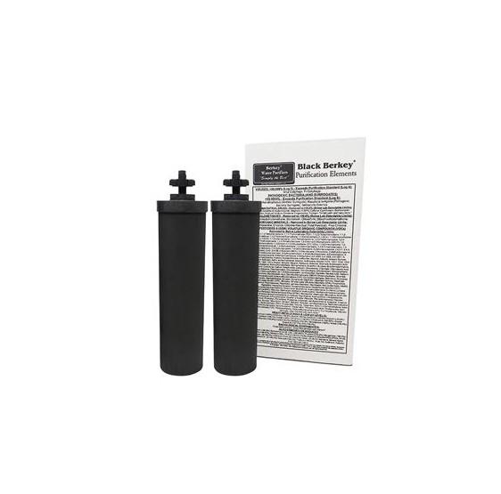 BERKEY® FILTRES BLACK  (KIT de 2)