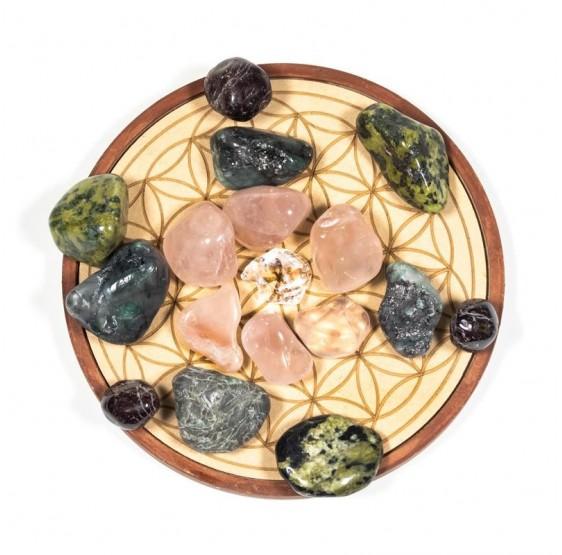Grille de cristal Amour - plaque