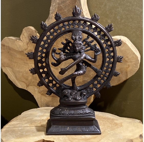 Shiva Nataraj laiton monochrome - 20 cm