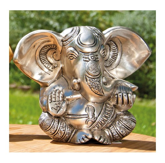 Ganesha, Antique gold - 23 cm