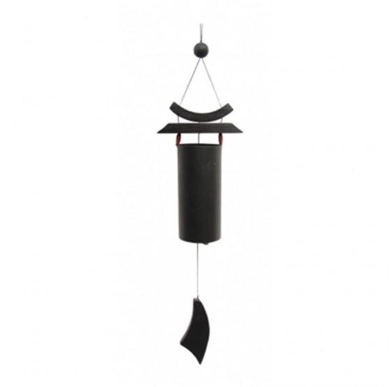 Carillon à vent Zen noir - 58 cm