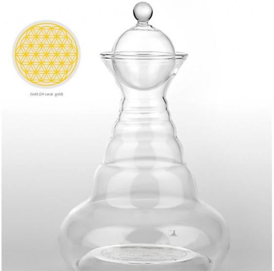 Carafe Vital Delicate OR - 500 ml -Fleur de vie - OR 24k