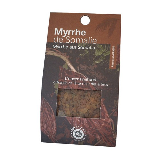 Encens en résine - Myrrhe