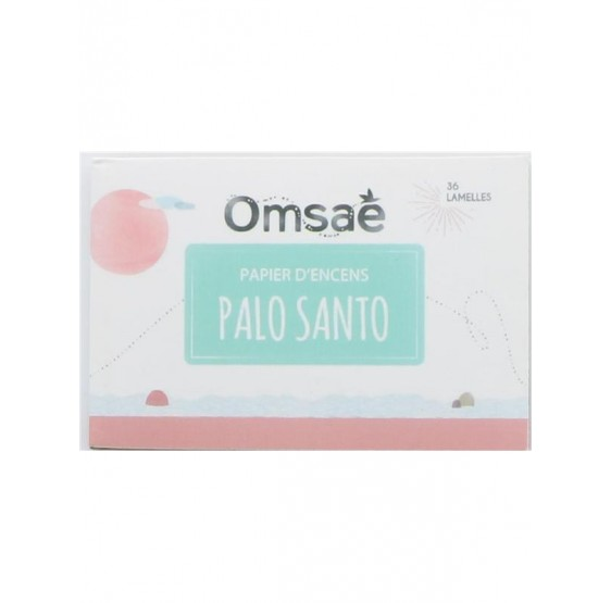 Carnet de Papier d'encens Palo Santo