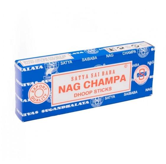 Batons d'encens Nag Champa - 12 dhoop