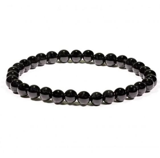 Bracelet Tourmaline - élastique - 5 mm