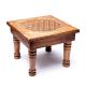 Table d'appoint Fleur de Vie en bois