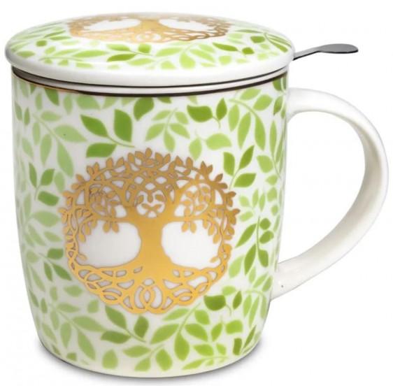 Mug Arbre de vie SET infuseur  thé