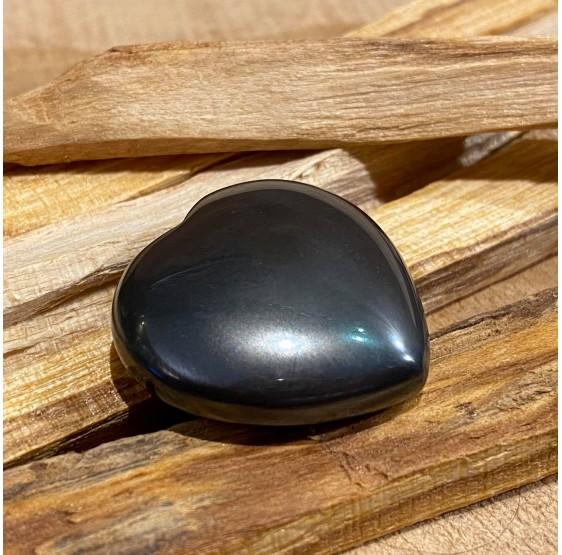 Hematite - Gratitude coeur poli