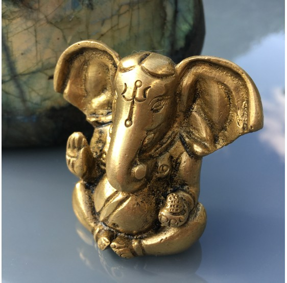 Ganesha - laiton - mini-figurine