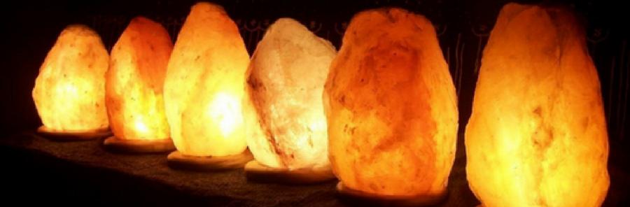 Lampes de sel - Himalaya