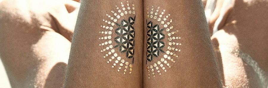 Tatouages Mode Bijoux